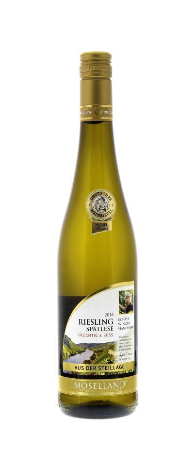 2016, Riesling, Spätlese, Weiß, Deutschland, Mosel, süß, Wein