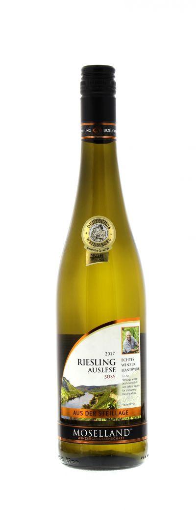 2017, Riesling, Auslese, Weiß, Deutschland, Mosel, Auslese, süß, Wein