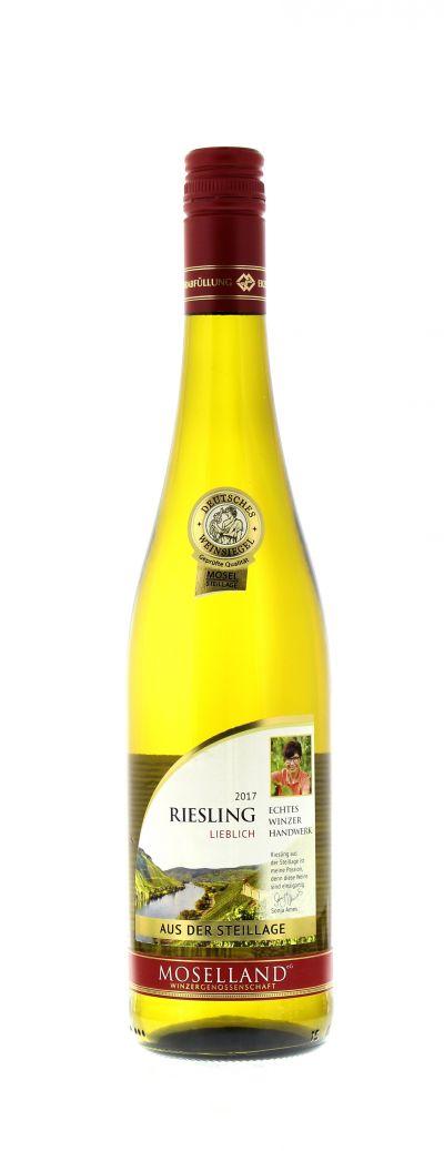 2017, Riesling, Weiß, Deutschland, Mosel, Qualitätswein, lieblich, Wein