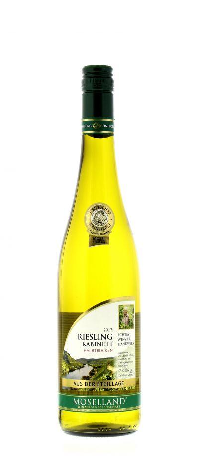 2017, Riesling, Weiß, Deutschland, Mosel, Kabinett, halbtrocken, Wein