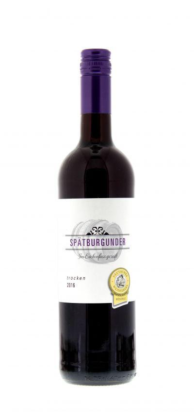 2016, Spätburgunder, Rot, Deutschland, Pfalz, Qualitätswein, trocken, Wein