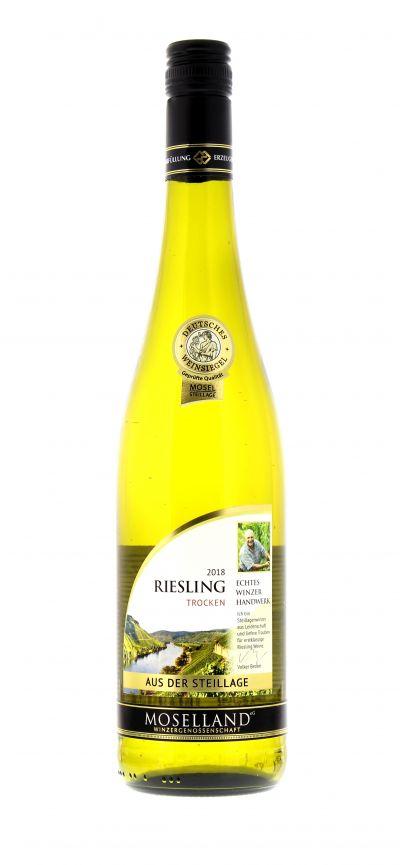 2018, Riesling, Weiß, Deutschland, Mosel, Qualitätswein, trocken, Wein