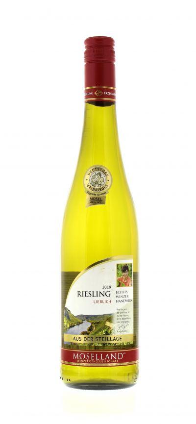 2018, Riesling, Weiß, Deutschland, Mosel, Qualitätswein, lieblich, Wein