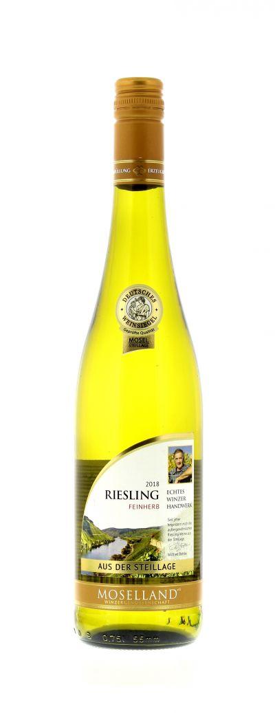 2018, Riesling, Weiß, Deutschland, Mosel, Qualitätswein, feinherb, Wein