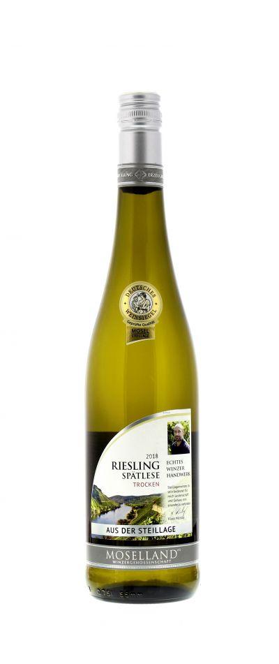 2018, Riesling, Weiß, Deutschland, Mosel, Spätlese, trocken, Wein