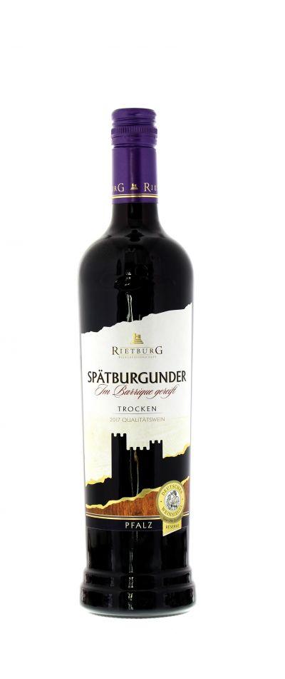 2017, Spätburgunder, Rot, Deutschland, Pfalz, Qualitätswein, trocken, Wein