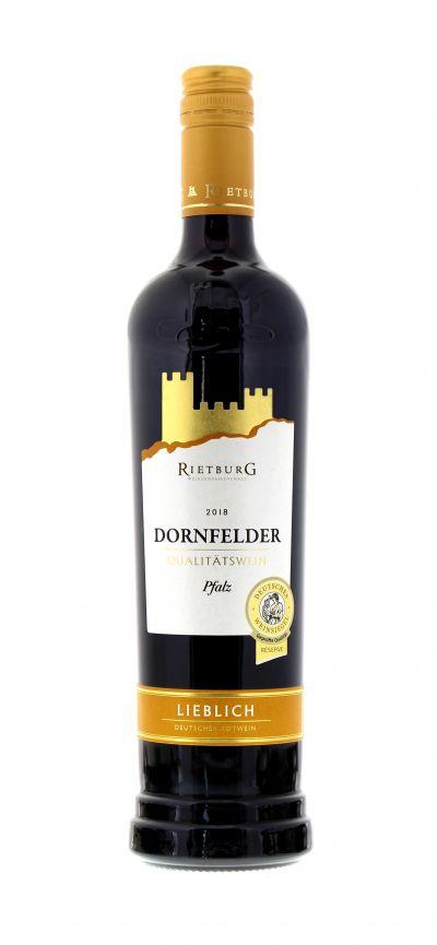 2018, Dornfelder, Rot, Deutschland, Pfalz, Rietburg, Qualitätswein, lieblich, Wein