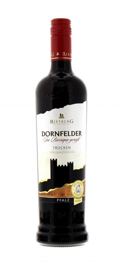 2018, Dornfelder, Rot, Deutschland, Pfalz, Rietburg, Qualitätswein, trocken, Wein