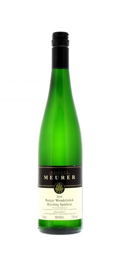 2018, Riesling, Weiß, Deutschland, Mosel, Burger Wendelstück, Spätlese, süß, Wein