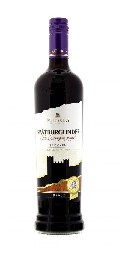 2018, Spätburgunder, Rot, Deutschland, Pfalz, Qualitätswein, trocken, Wein