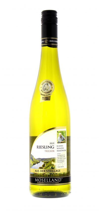 2019, Riesling, Weiß, Deutschland, Mosel, Qualitätswein, trocken, Wein