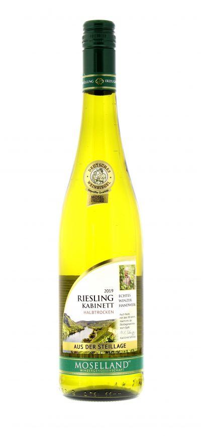 2019, Riesling, Weiß, Deutschland, Mosel, Kabinett, halbtrocken, Wein