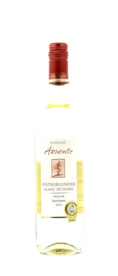 2019, Spätburgunder, Blanc de Noirs, Deutschland, Mosel, Qualitätswein, trocken, Wein