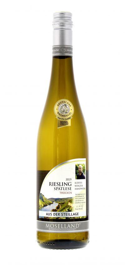 2019, Riesling, Weiß, Deutschland, Mosel, Spätlese, trocken, Wein