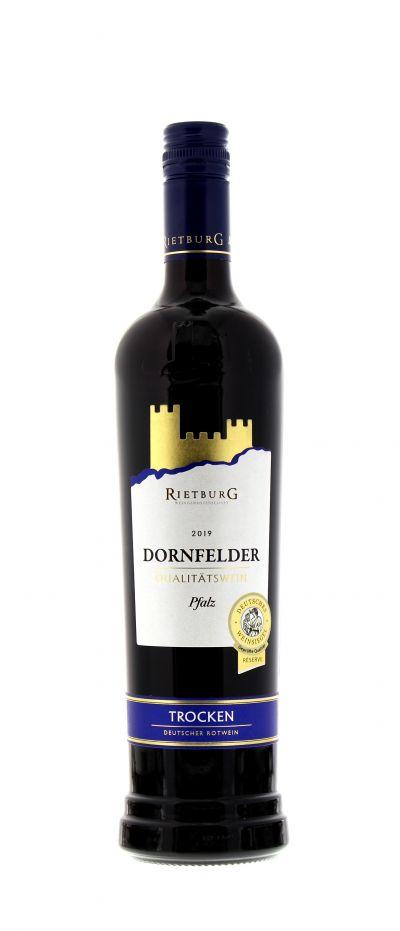 2019, Dornfelder, Rot, Deutschland, Pfalz, Qualitätswein, trocken, Wein