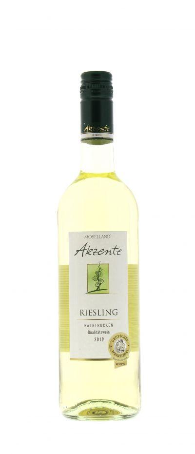 2019, Riesling, Weiß, Deutschland, Mosel, Qualitätswein, halbtrocken, Wein