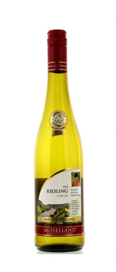 2019, Riesling, Weiß, Deutschland, Mosel, Qualitätswein, lieblich, Wein