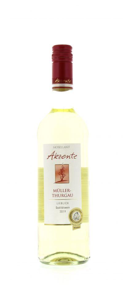 2019, Müller-Thurgau, Weiß, Deutschland, Mosel, Qualitätswein, lieblich, Wein