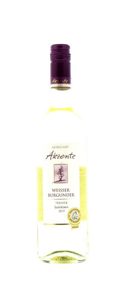 2019, Weißburgunder, Weiß, Deutschland, Mosel, Qualitätswein, trocken, Wein