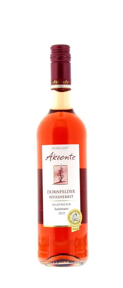2019, Dornfelder, Weißherbst, Deutschland, Mosel, Qualitätswein, halbtrocken, Wein