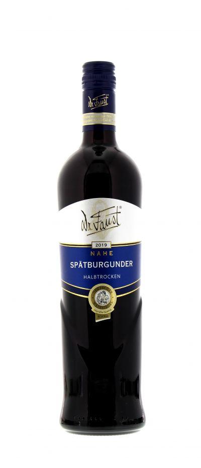 2019, Spätburgunder, Rot, Deutschland, Nahe, Qualitätswein, halbtrocken, Wein