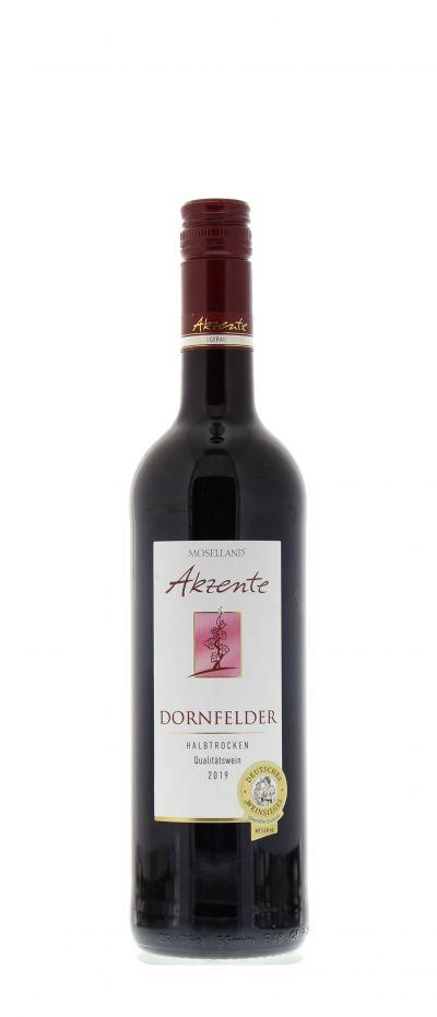 2019, Dornfelder, Rot, Deutschland, Mosel, Qualitätswein, halbtrocken, Wein