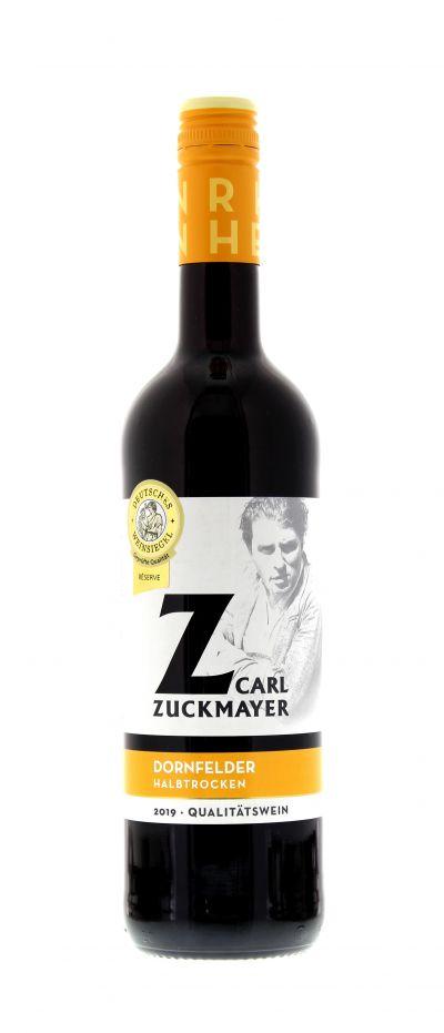 2019, Dornfelder, Rot, Deutschland, Rheinhessen, Qualitätswein, halbtrocken, Wein