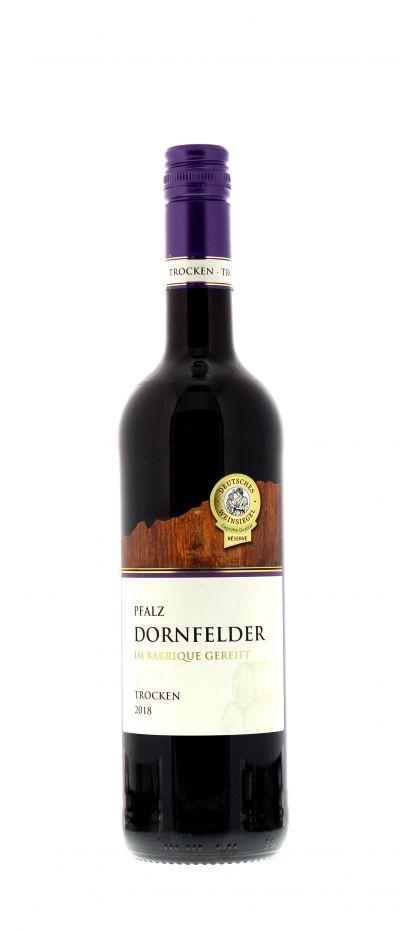 2018, Dornfelder, Rot, Deutschland, Pfalz, Qualitätswein, trocken, Wein
