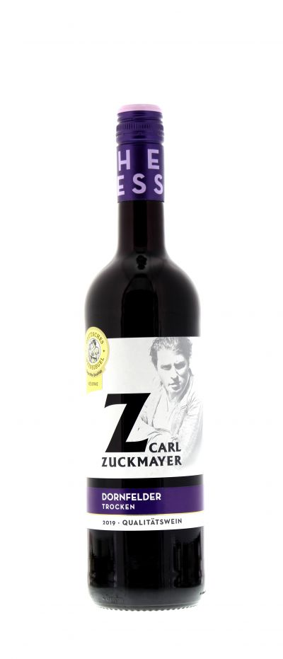 2019, Dornfelder, Rot, Deutschland, Rheinhessen, Qualitätswein, trocken, Wein