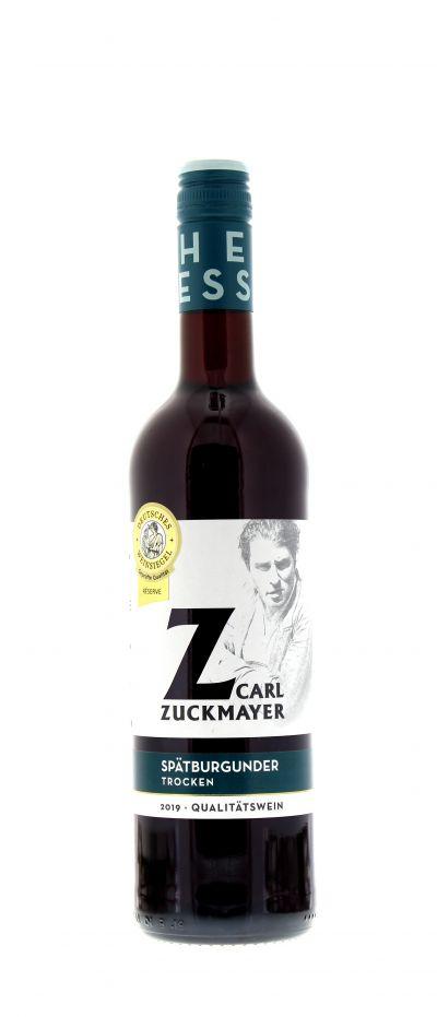 2019, Spätburgunder, Rot, Deutschland, Rheinhessen, Qualitätswein, trocken, Wein