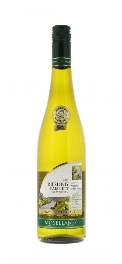 2020, Riesling, Weiß, Deutschland, Mosel, Kabinett, halbtrocken, Wein