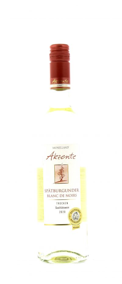 2020, Spätburgunder, Blanc de Noirs, Deutschland, Mosel, Qualitätswein, trocken, Wein