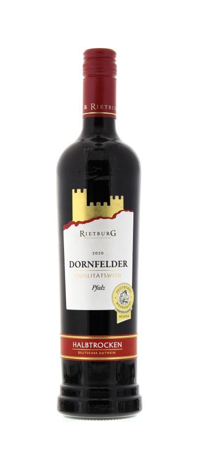 2020, Dornfelder, Rot, Deutschland, Pfalz, Qualitätswein, halbtrocken, Wein