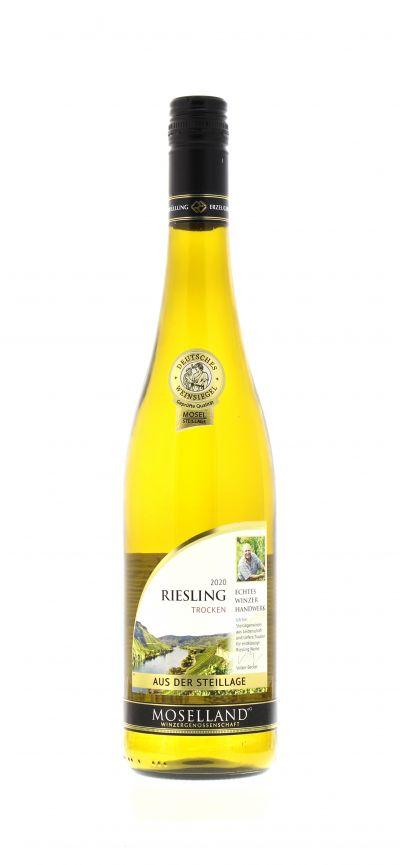 2020, Riesling, Weiß, Deutschland, Mosel, Qualitätswein, trocken, Wein