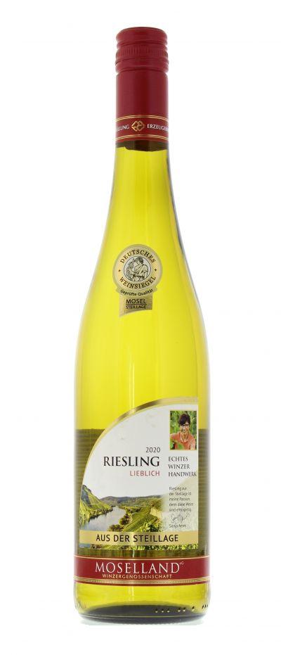 2020, Riesling, Weiß, Deutschland, Mosel, Qualitätswein, lieblich, Wein