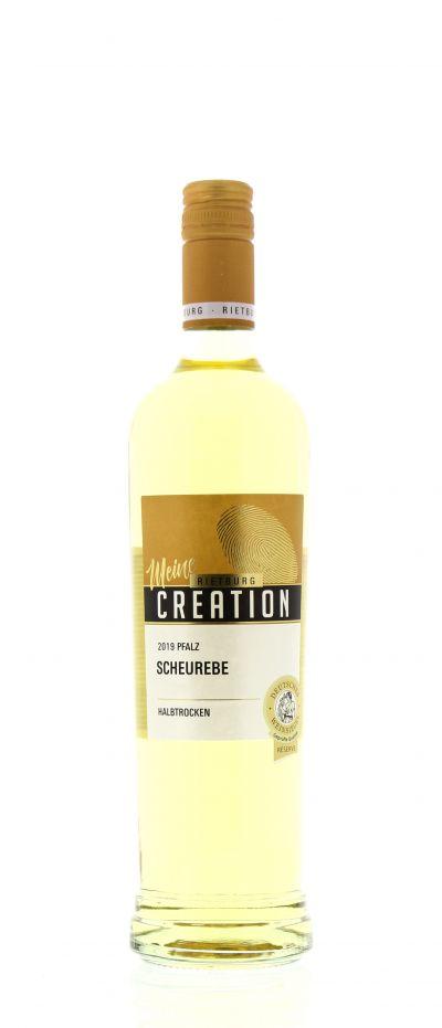 2019, Scheurebe, Weiß, Deutschland, Pfalz, Qualitätswein, halbtrocken, Wein