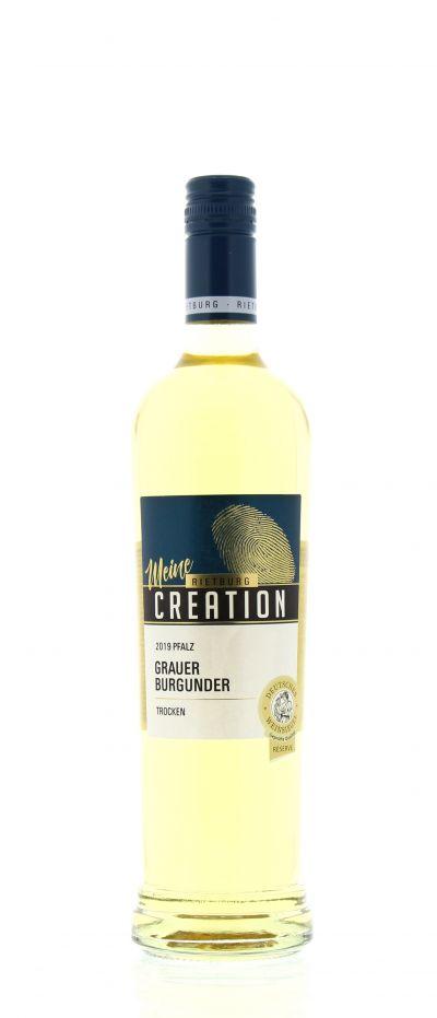 2019, Grauer Burgunder, Weiß, Deutschland, Pfalz, Qualitätswein, trocken, Wein