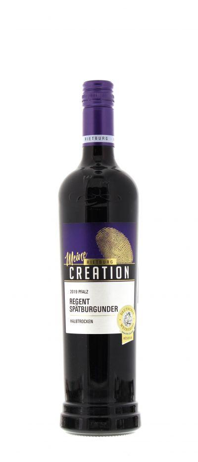 2019, Regent, Spätburgunder, Rot, Deutschland, Pfalz, Qualitätswein, halbtrocken, Wein