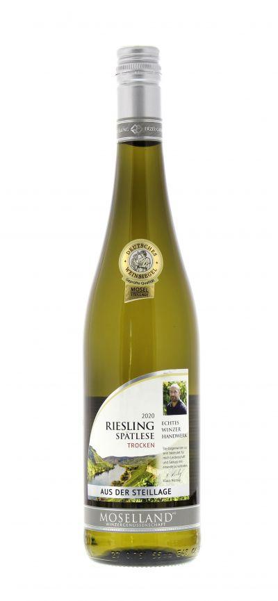 2020, Riesling, Weiß, Deutschland, Mosel, Spätlese, trocken, Wein