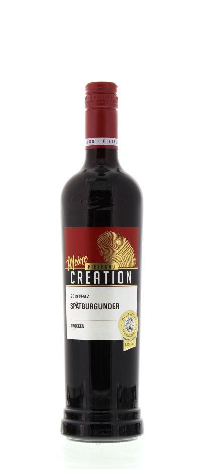2019, Spätburgunder, Rot, Deutschland, Pfalz, Qualitätswein, trocken, Wein