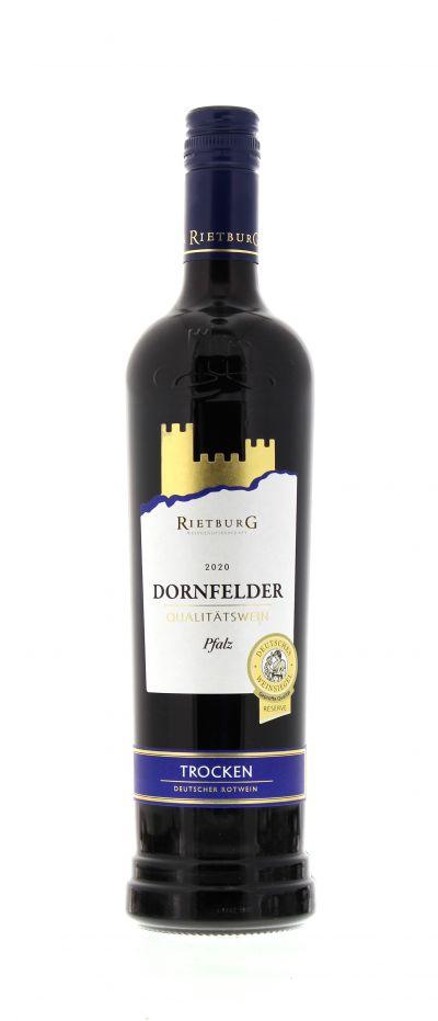 2020, Dornfelder, Rot, Deutschland, Pfalz, Qualitätswein, trocken, Wein