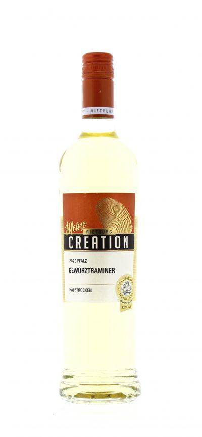 2020, Gewürztraminer, Weiß, Deutschland, Pfalz, Qualitätswein, halbtrocken, Wein