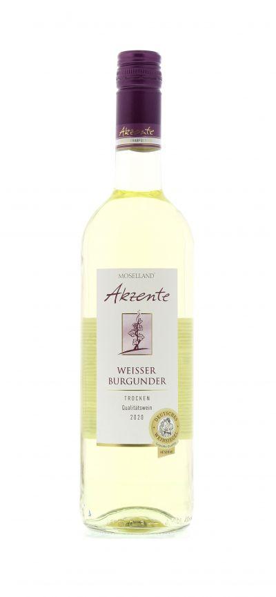 2020, Weißburgunder, Weiß, Deutschland, Mosel, Qualitätswein, trocken, Wein