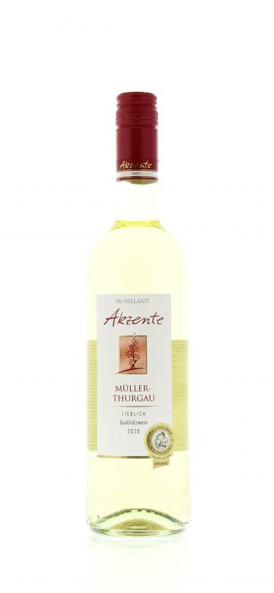 2020, Müller-Thurgau, Weiß, Deutschland, Mosel, Qualitätswein, lieblich, Wein