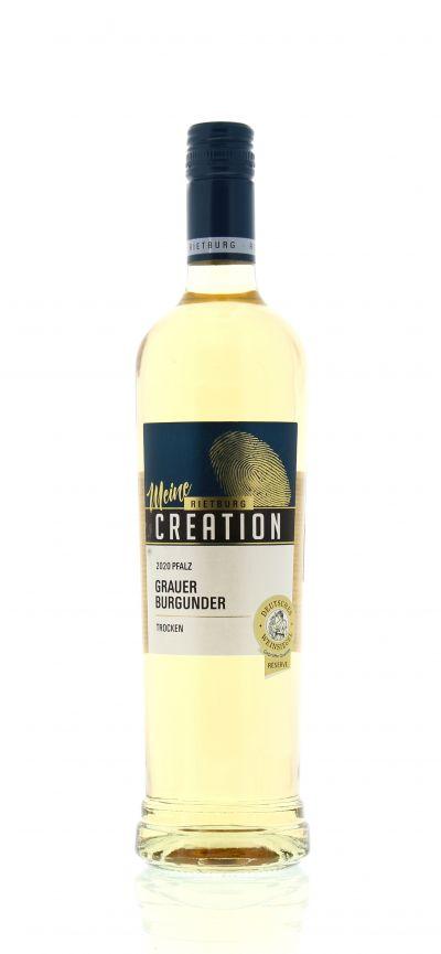 2020, Grauer Burgunder, Weiß, Deutschland, Pfalz, Qualitätswein, trocken, Wein
