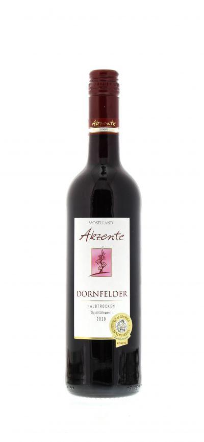2020, Dornfelder, Rot, Deutschland, Mosel, Qualitätswein, halbtrocken, Wein