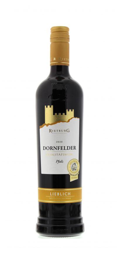 2020, Dornfelder, Rot, Deutschland, Rheinhessen, Qualitätswein, lieblich, Wein