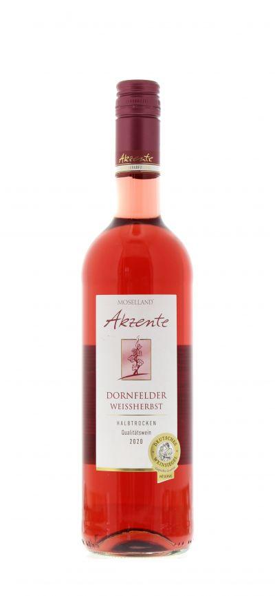 2020, Dornfelder, Weißherbst, Deutschland, Mosel, Qualitätswein, halbtrocken, Wein