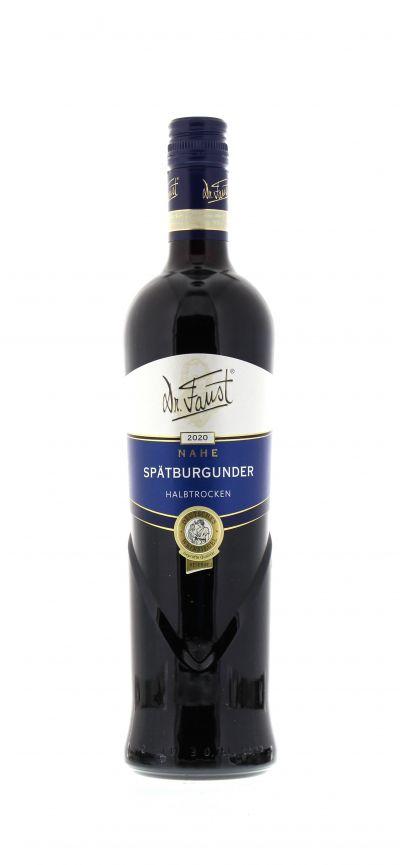 2020, Spätburgunder, Rot, Deutschland, Nahe, Qualitätswein, halbtrocken, Wein