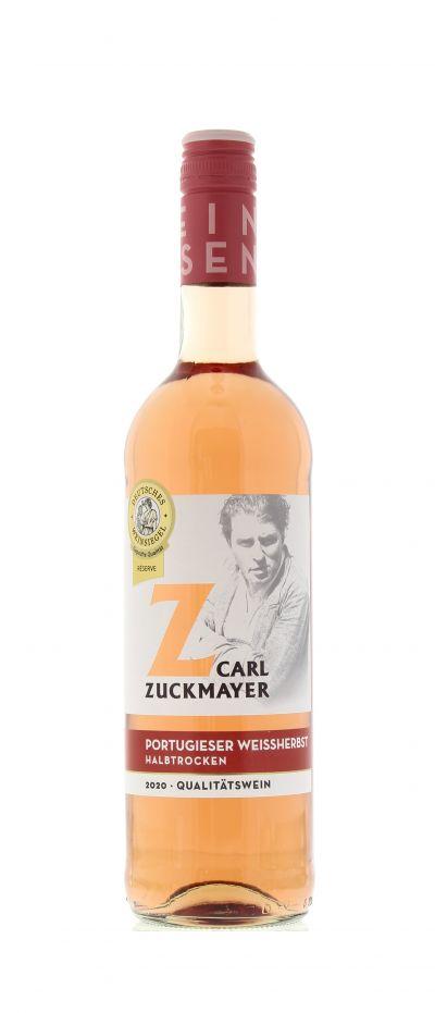 2020, Portugieser, Weißherbst, Deutschland, Rheinhessen, Qualitätswein, halbtrocken, Wein
